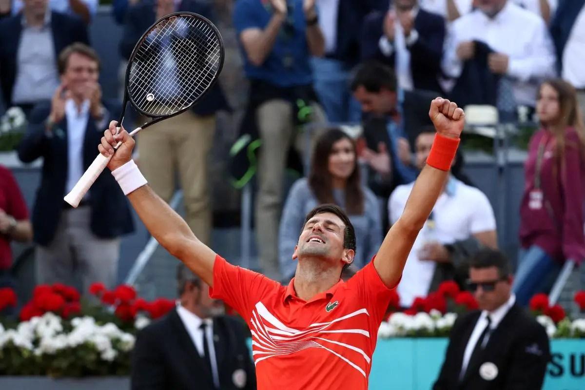 Djokovic Claims Madrid Masters Title