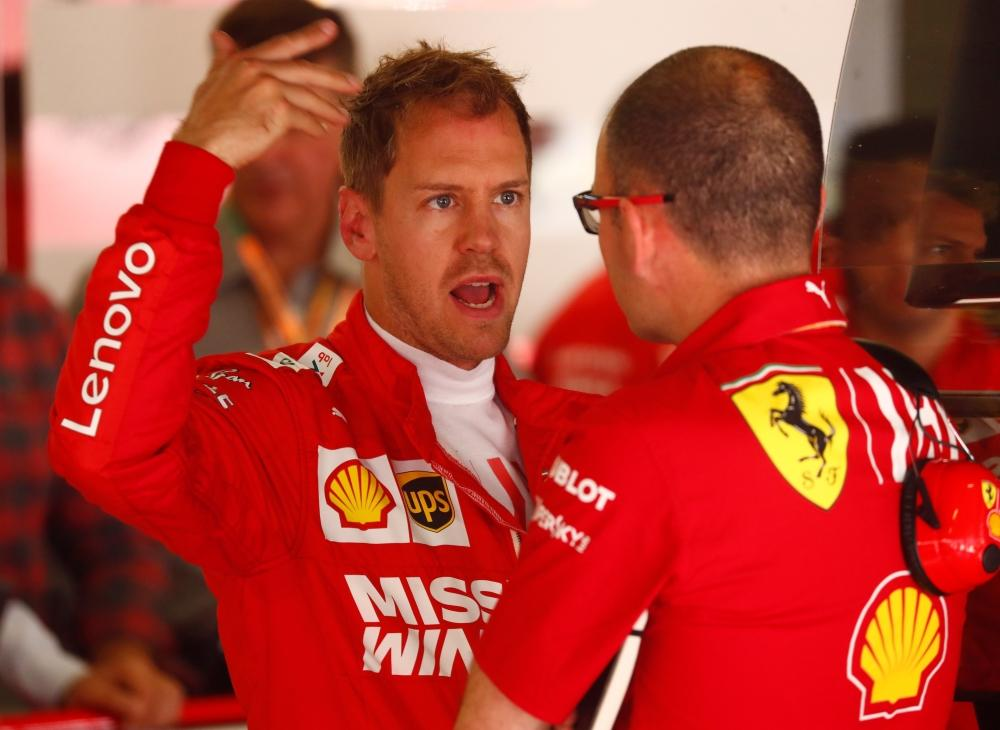 Ferrari Are Struggling – Vettel