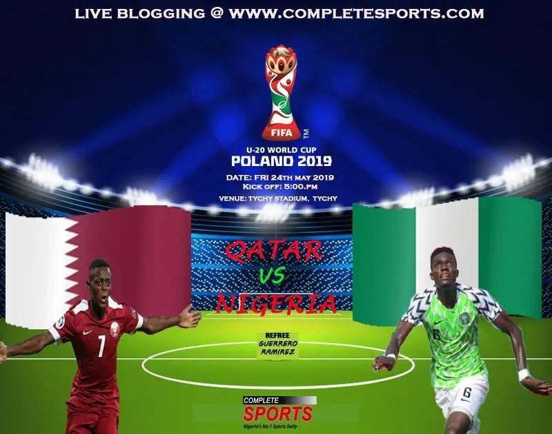 Poland 2019: Live Blogging- Qatar Vs Nigeria