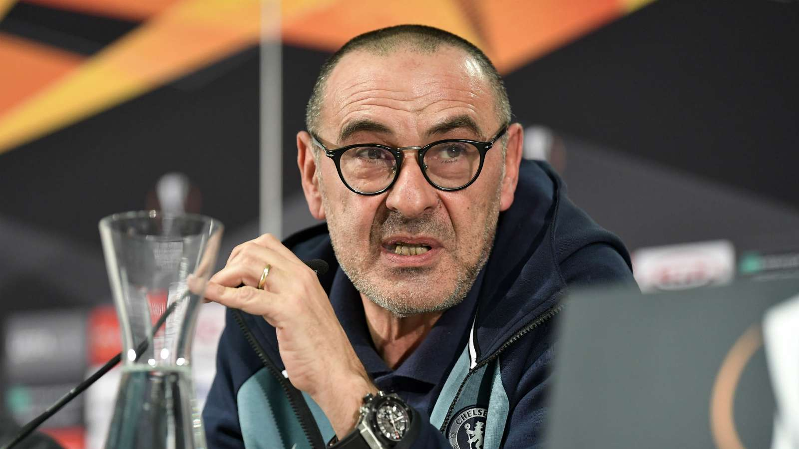 Sarri: Chelsea Can't Close Gap At Top Now, Tough To Improve With Transfer Ban