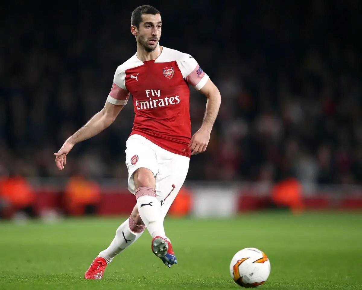 Mkhitaryan 'Hurt' To Miss Arsenal Showpiece