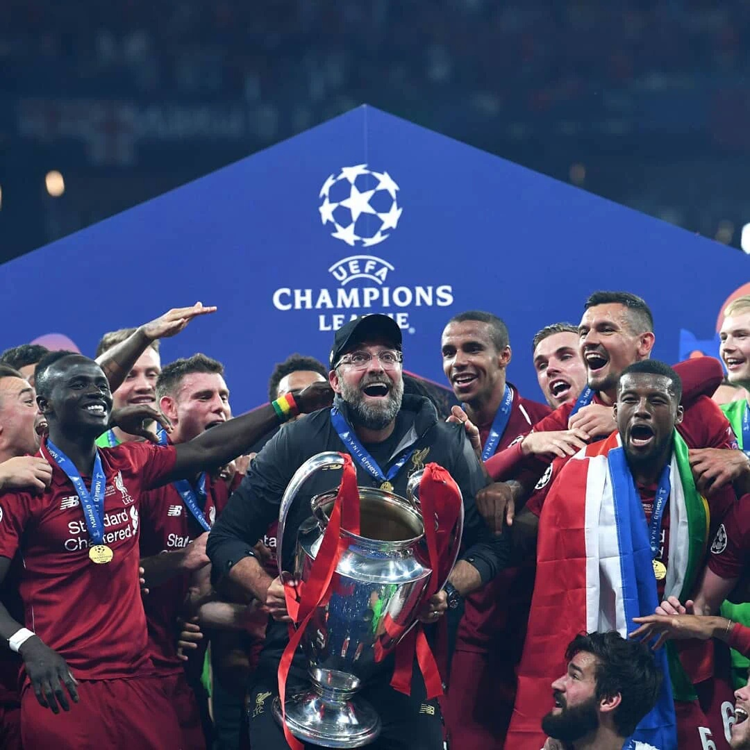 Klopp Hails Liverpool Champions League Win As Best Night Of His Career