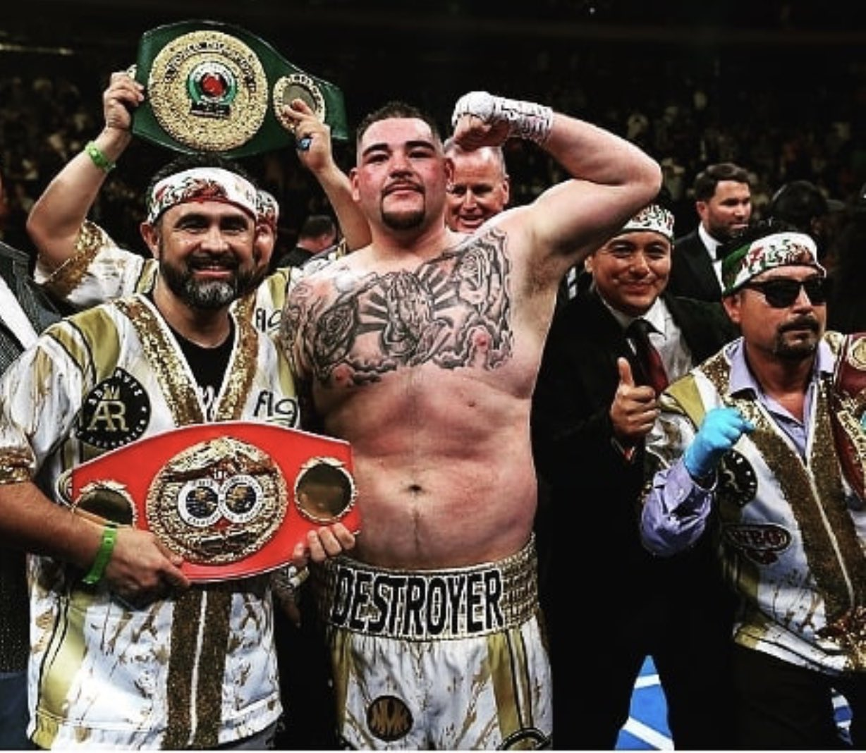 Ruiz Jr Wants Joshua Rematch In Home Country Mexico
