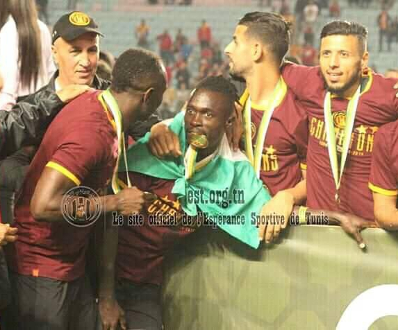 Lokosa Helps Esperance Win 29th Tunisian Premier League Title