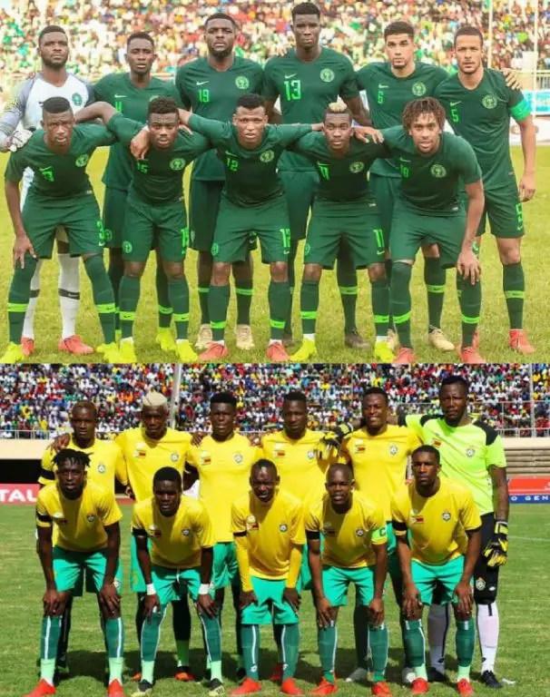 Super Eagles Vs Warriors: Rohr To Field Experimental Team As Nigeria Target 5th Win Vs Zimbabwe