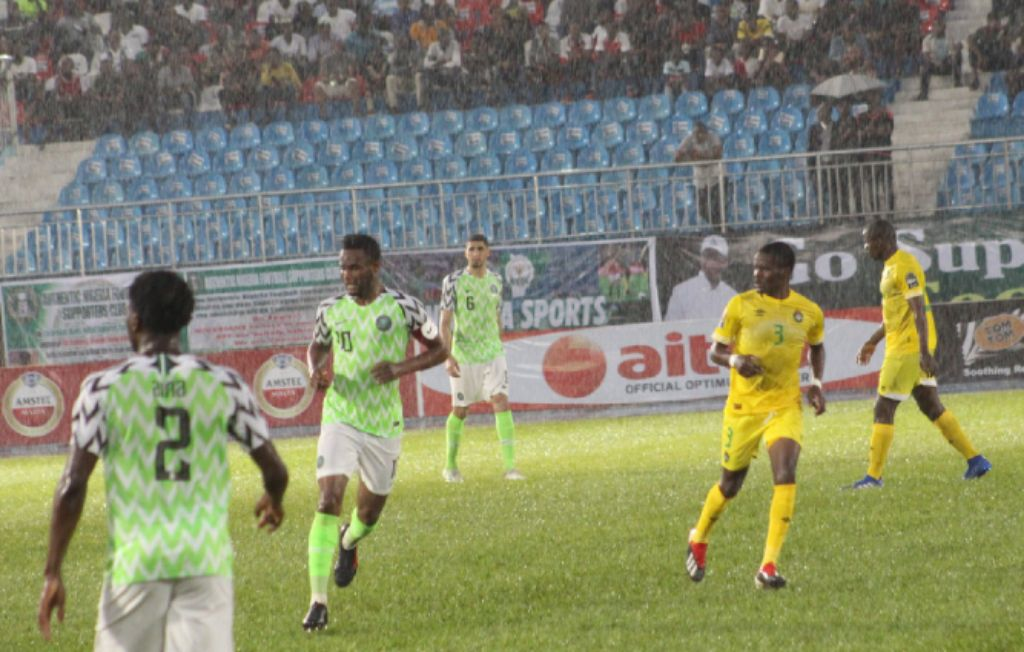 Zimbabwe's Warriors Hold Super Eagles In Rainy Asaba Weather
