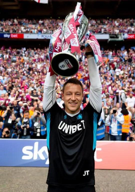 Chelsea Legend Terry Extends Aston Villa Assistant Coach Contract