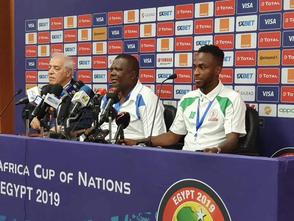 Burundi Coach Niyungeko: We Don't Fear Super Eagles, Others