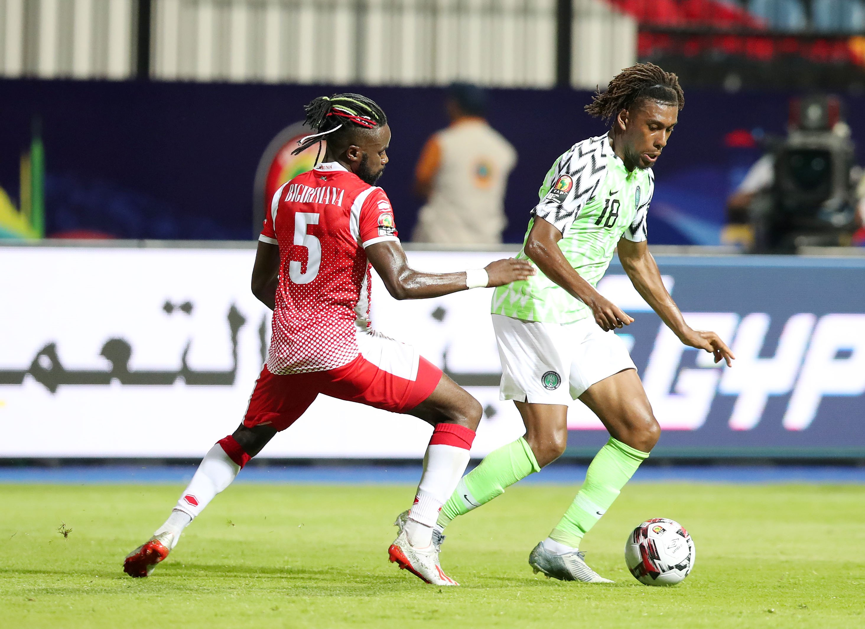 Iwobi: Defeat To Madagascar Will Spur  Eagles To Beat Cameroon