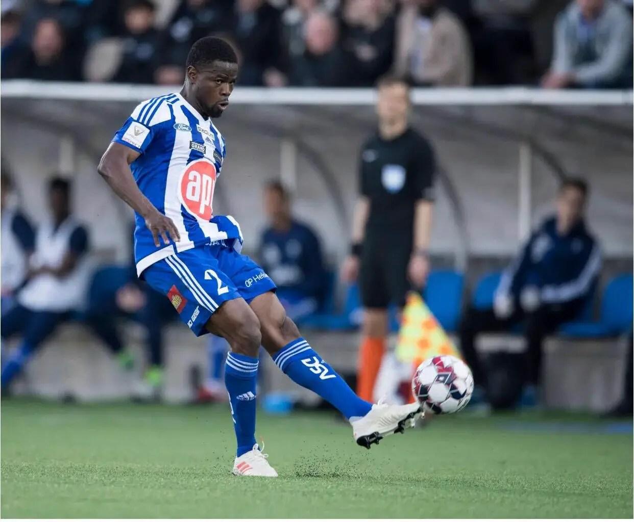 Echiejile Terminates Contract With Finnish Club HJK Helsinki