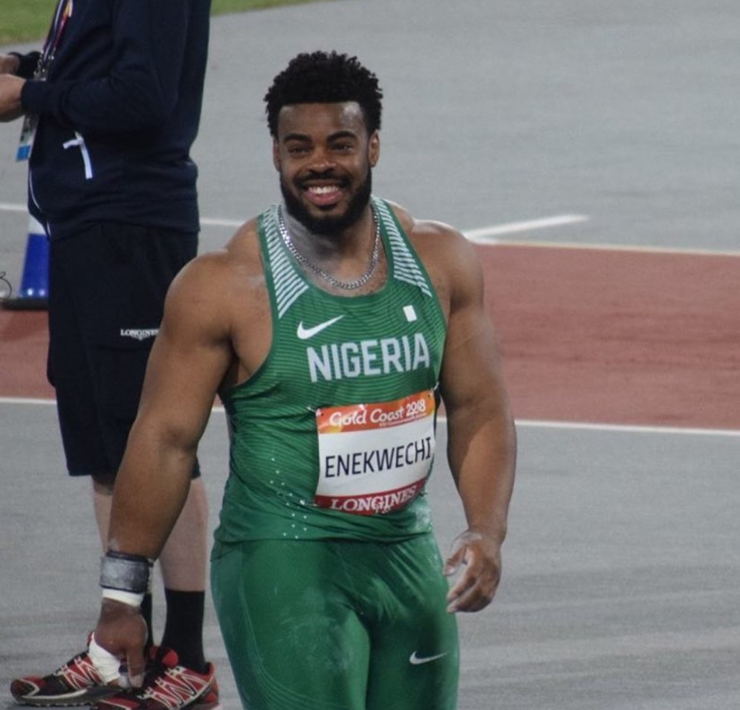 Enekwechi Set For IAAF Diamond League Debut; Listed For Shot Put Event In Rome