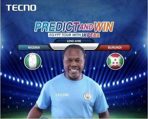 Win A Trip To Egypt With Ikpeba In The Tecno Guess Campaign