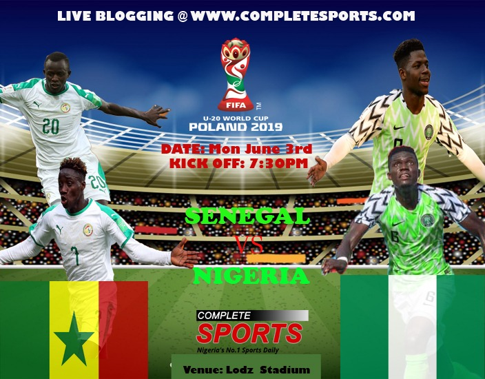 Poland 2019: Live Blogging-Senegal Vs Nigeria