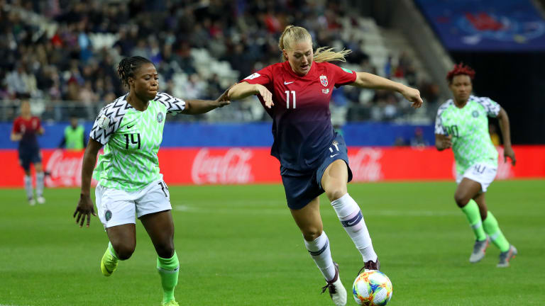 France 2019: Super Falcons Lose 3-0 To Norway In First Group A Match