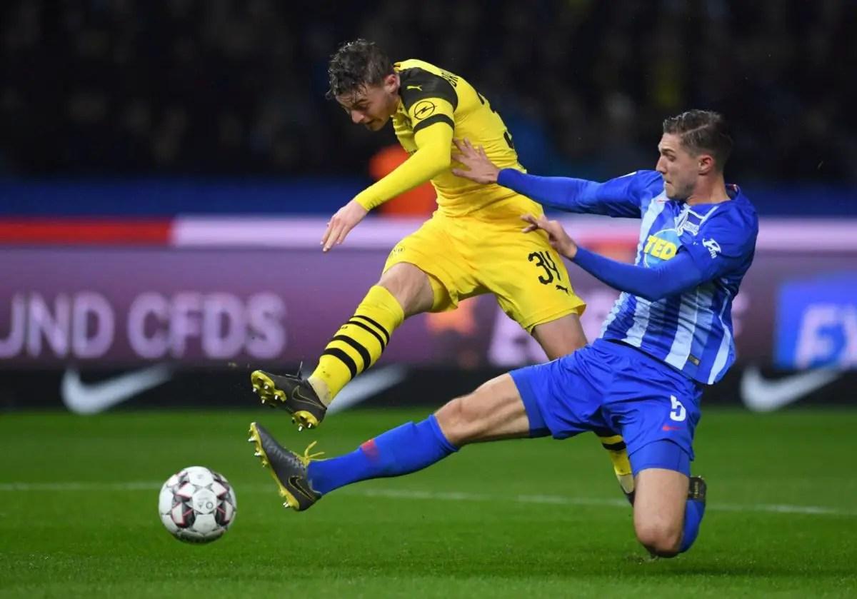 Dortmund Winger In Demand