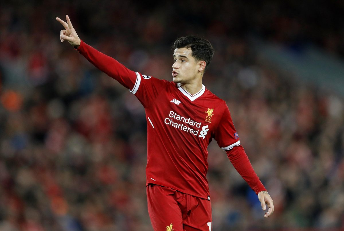 Reds Explore Coutinho Possibility