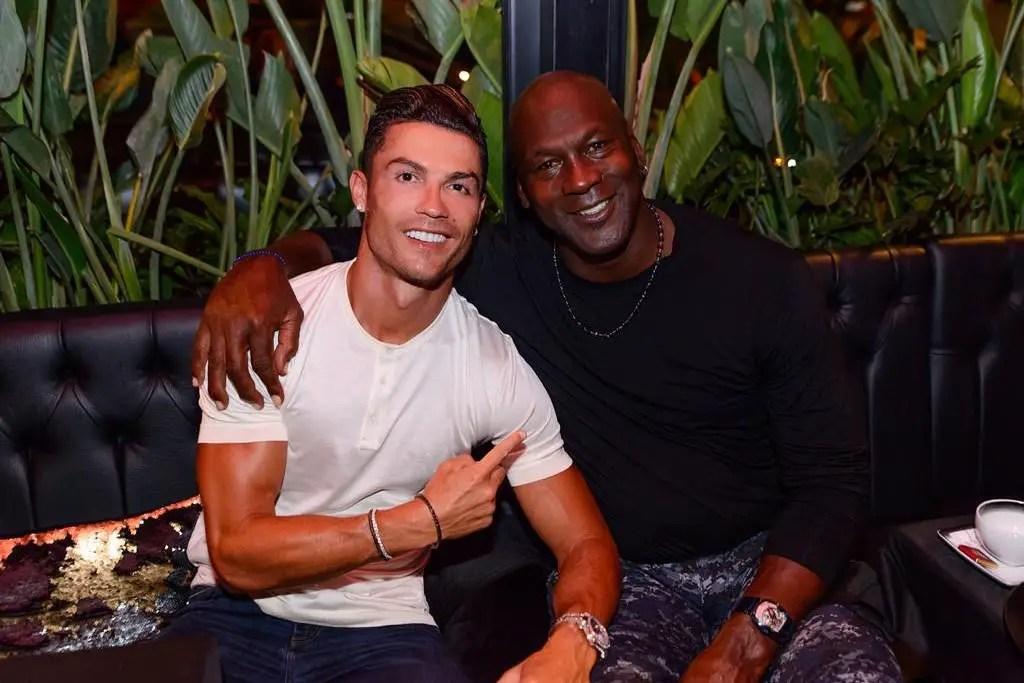 Ronaldo Meets Michael Jordan – We Made History