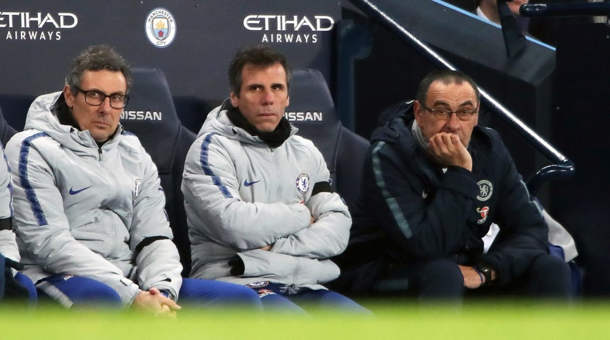 Zola Set To Depart Chelsea