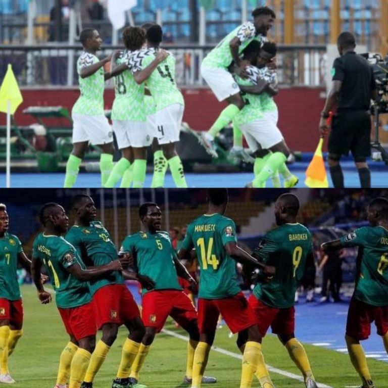 Super Eagles Face Cameroon In AFCON 2019 Round Of 16