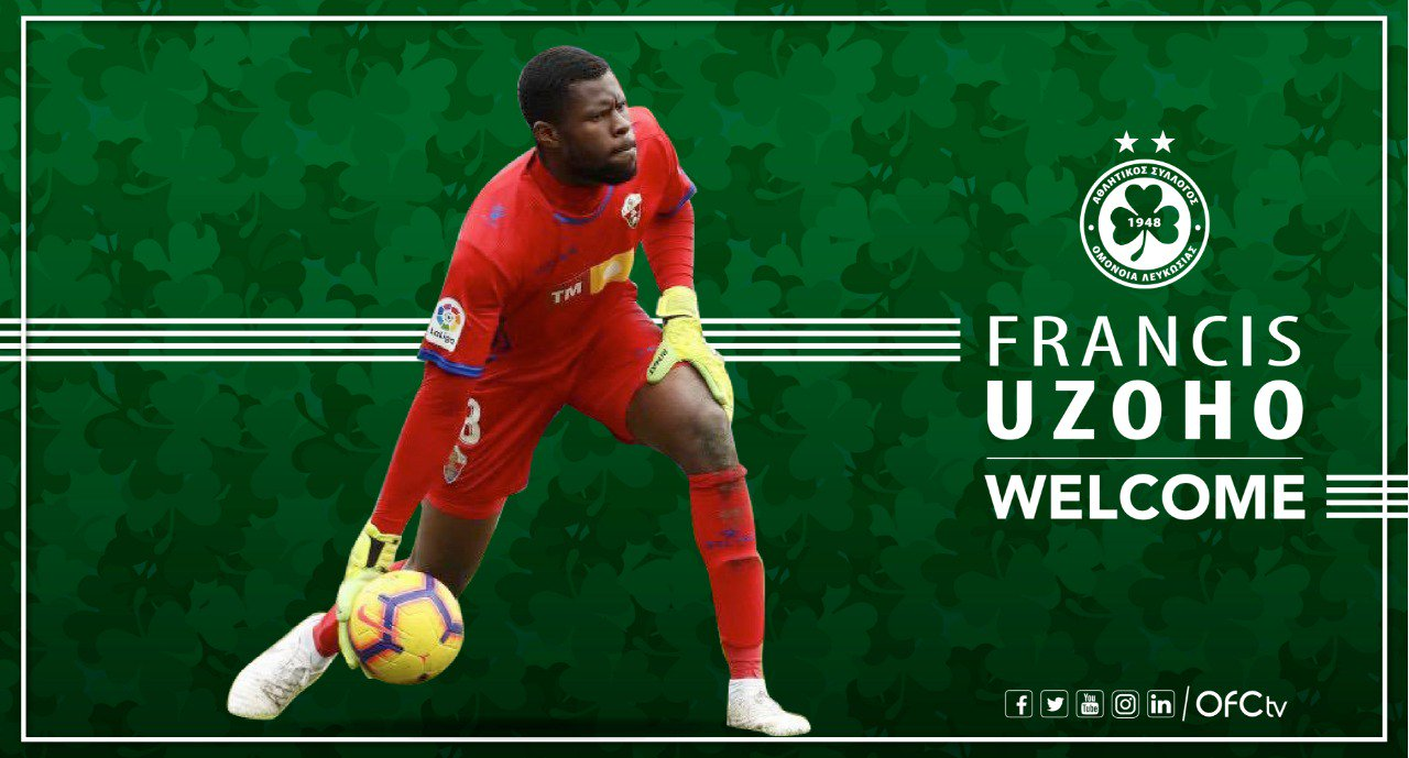 Uzoho Joins Cypriot Club Omonia On One-Season Loan From La Coruna