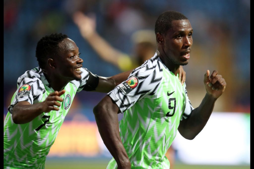 Ighalo Bags Man Of The Match Award In  Eagles' Win Vs Cameroon