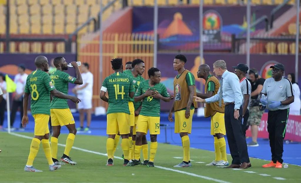 Confident Bafana Bafana Begin Full Preparation For Super Eagles Clash