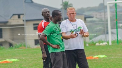 CAFCL: Kotoko Coach Zachariassen Worried About Sani Abacha Stadium AstroTurf Pitch