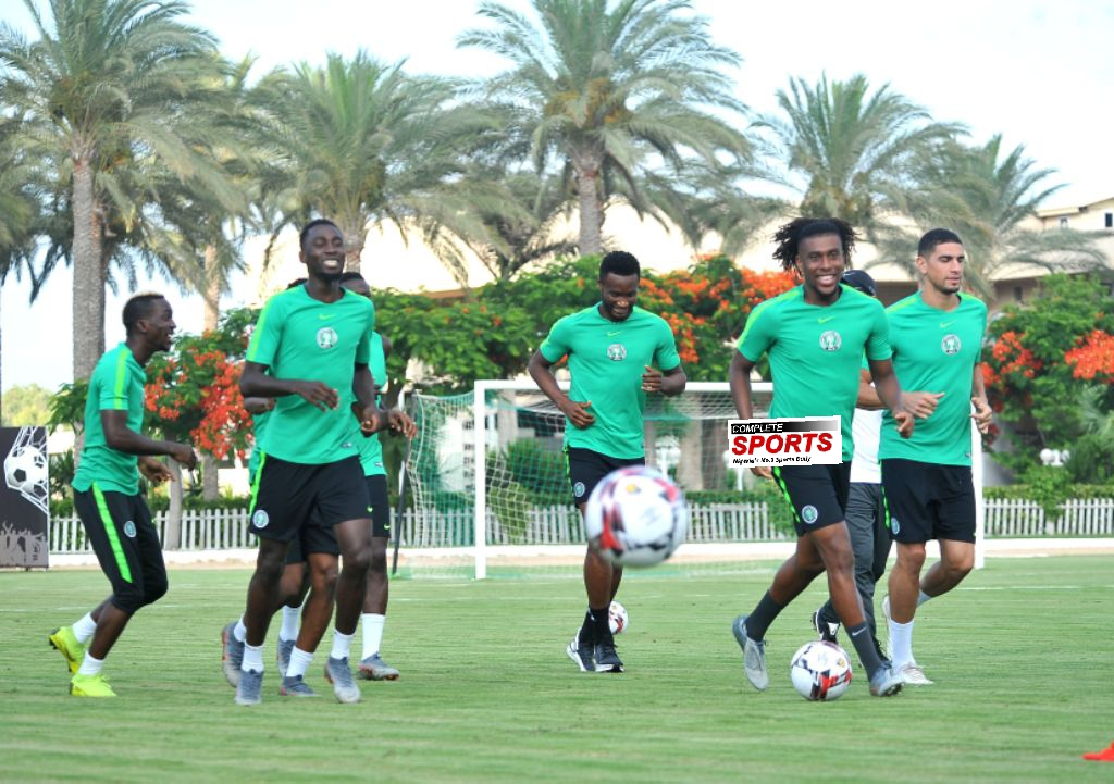 Rohr Recalls Iwobi, Ndidi, Omeruo For Super Eagles, Cameroon Clash