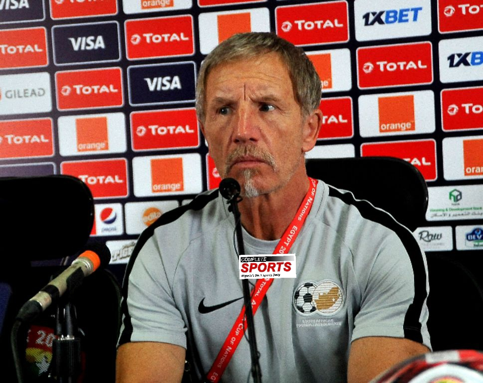 Baxter Steps Down As South Africa Coach After AFCON 2019 Quarterfinal Feat