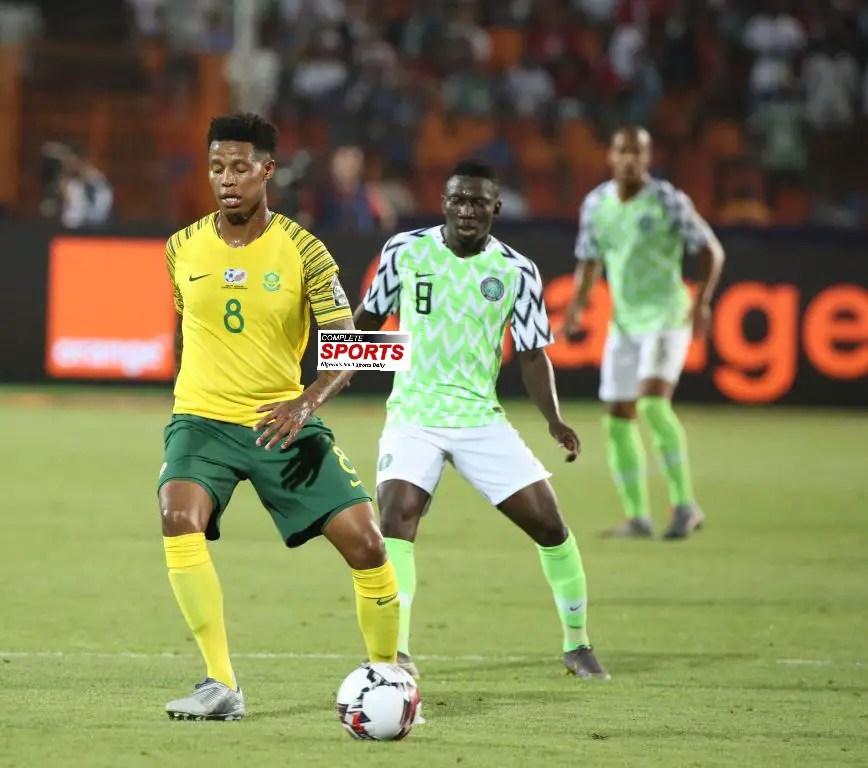 South Africa Midfielder, Zungu: We Deserved Victory Against Nigeria