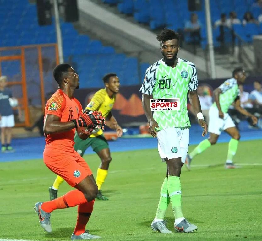 Akpeyi Returns, In Goal For Eagles Vs Benin; Ajayi, Aribo Also Start