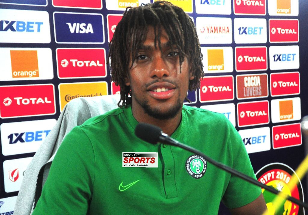 Iwobi: AFCON 2019 Third-Place Match Is Eagles' Chance To Get Consolation
