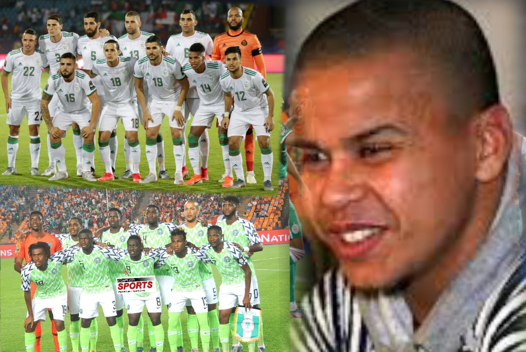 Ex-Algeria Striker, Boutabout: Nigeria Lack 'Big Name' Players; But Have Speed, Quality In Attack