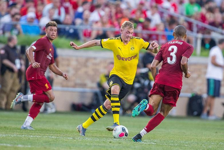 Brandt Missing For Bayern Clash