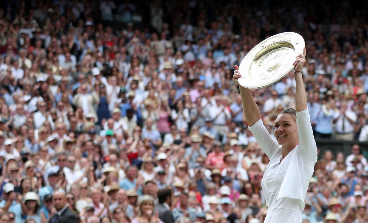 Halep To Be Honoured For Wimbledon Glory