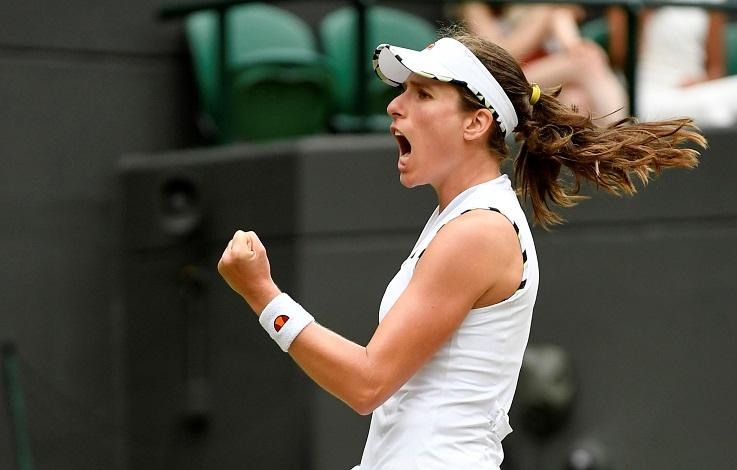 Konta Keeps Wimbledon Hopes Alive