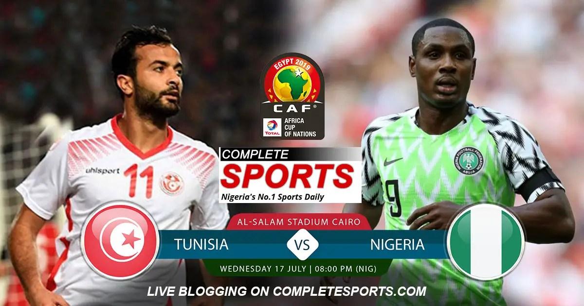 Live Blogging: Tunisia Vs Nigeria (AFCON 3rd Place Match)