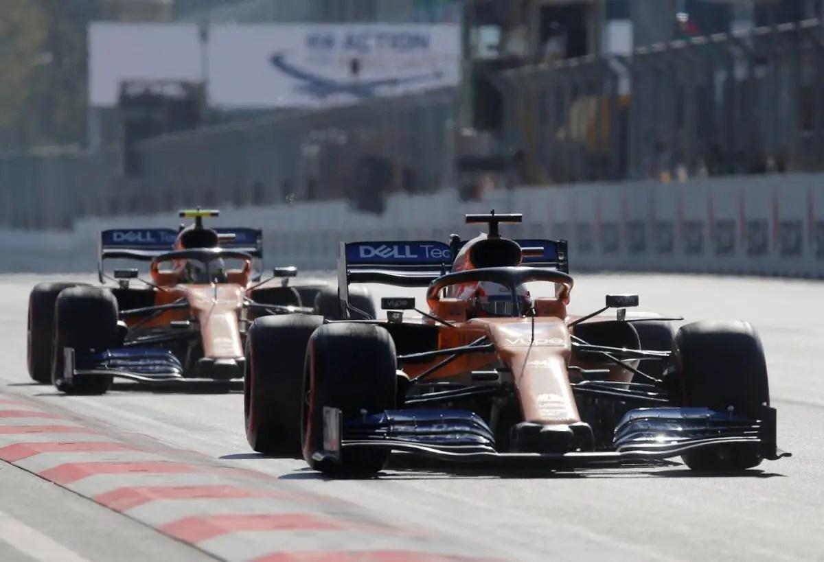 McLaren Retain Norris And Sainz For 2020