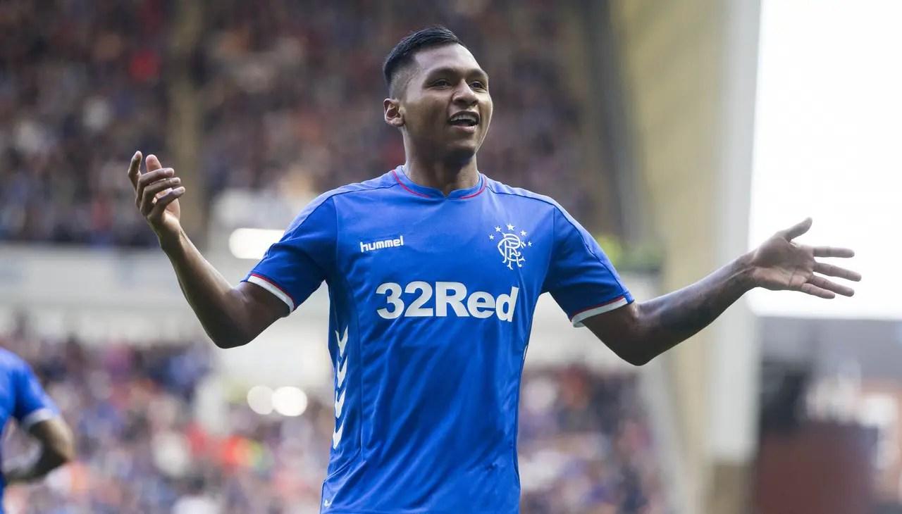 Milan Cast Eye Over Rangers Striker