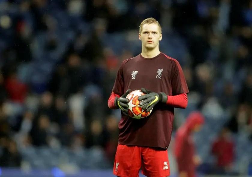 Liverpool keeper In Injury Setback