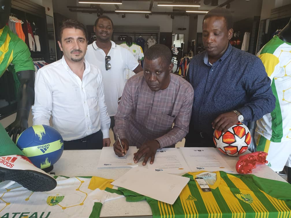 Plateau United Sign Kit Contract  With Turkish Firm Kayspor