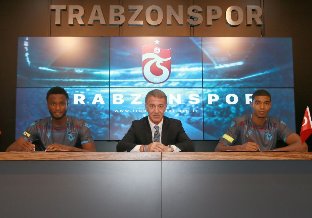 Mikel Signs Two-Year Contract With Trabzonspor; Eager For Fresh Challenges