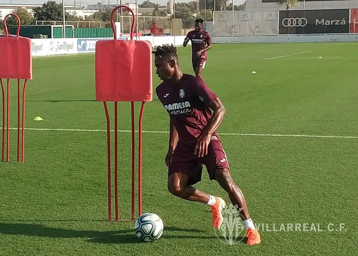 Chukwueze Back In Villarreal, Start Pre-Season Training program
