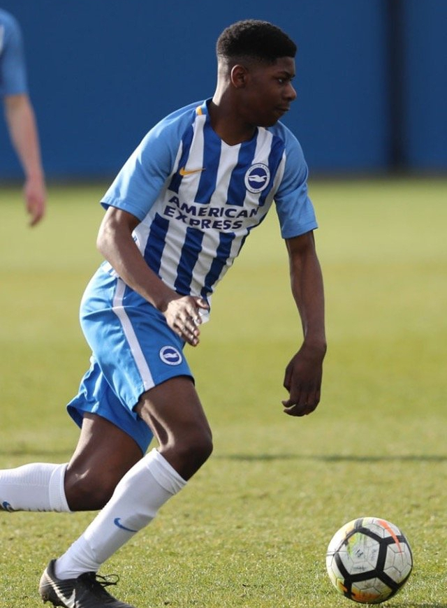 Brighton Wonderkid Offiah Eager To Switch Int'l Allegiance, Play For Nigeria