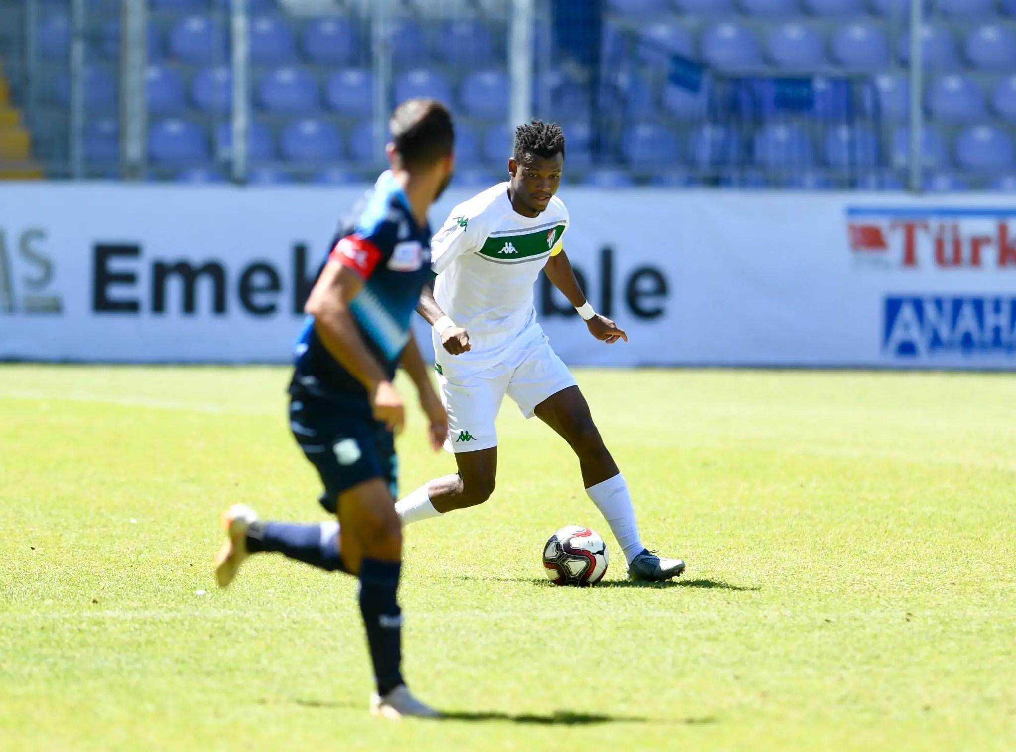 Bursaspor Captaincy In Friendly Win Vs El Jadida Thrills Abdullahi
