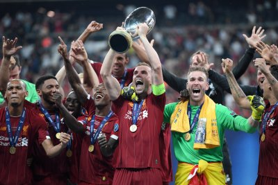Liverpool Win UEFA Super Cup On Penalties