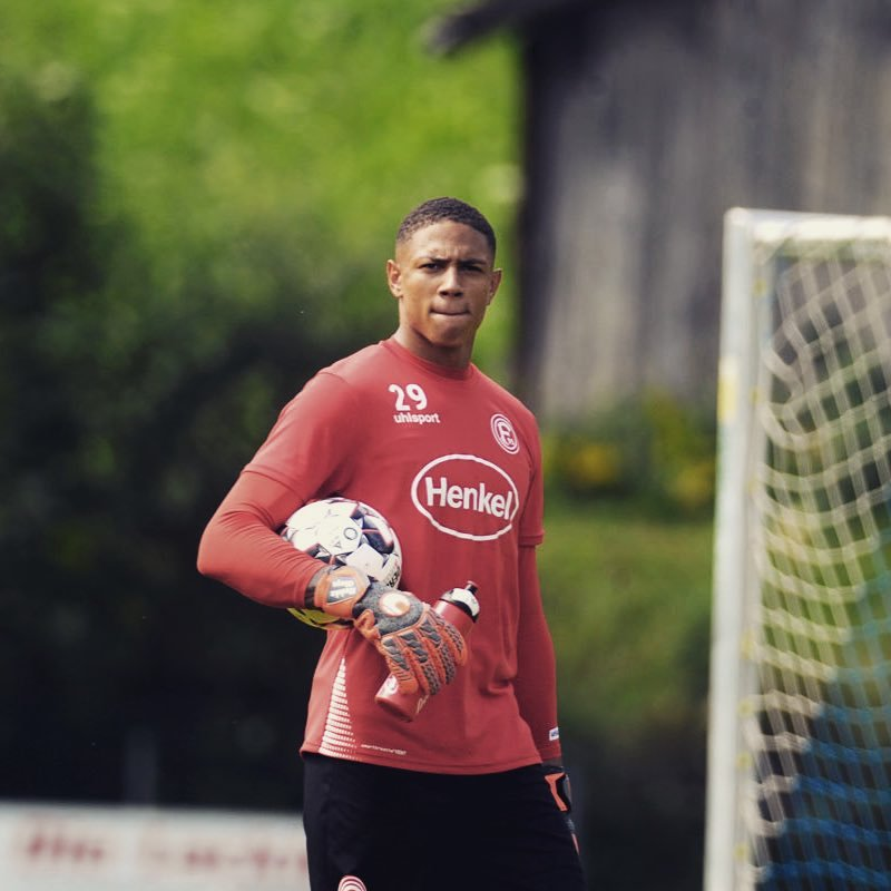 Dusseldorf Goalie Okoye Happy With First  Super Eagles Invitation