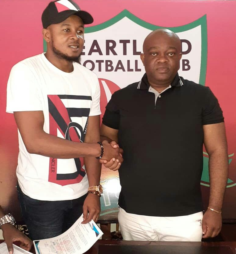 Ezenwa Joins Heartland On Two- Year Contract As Free Agent