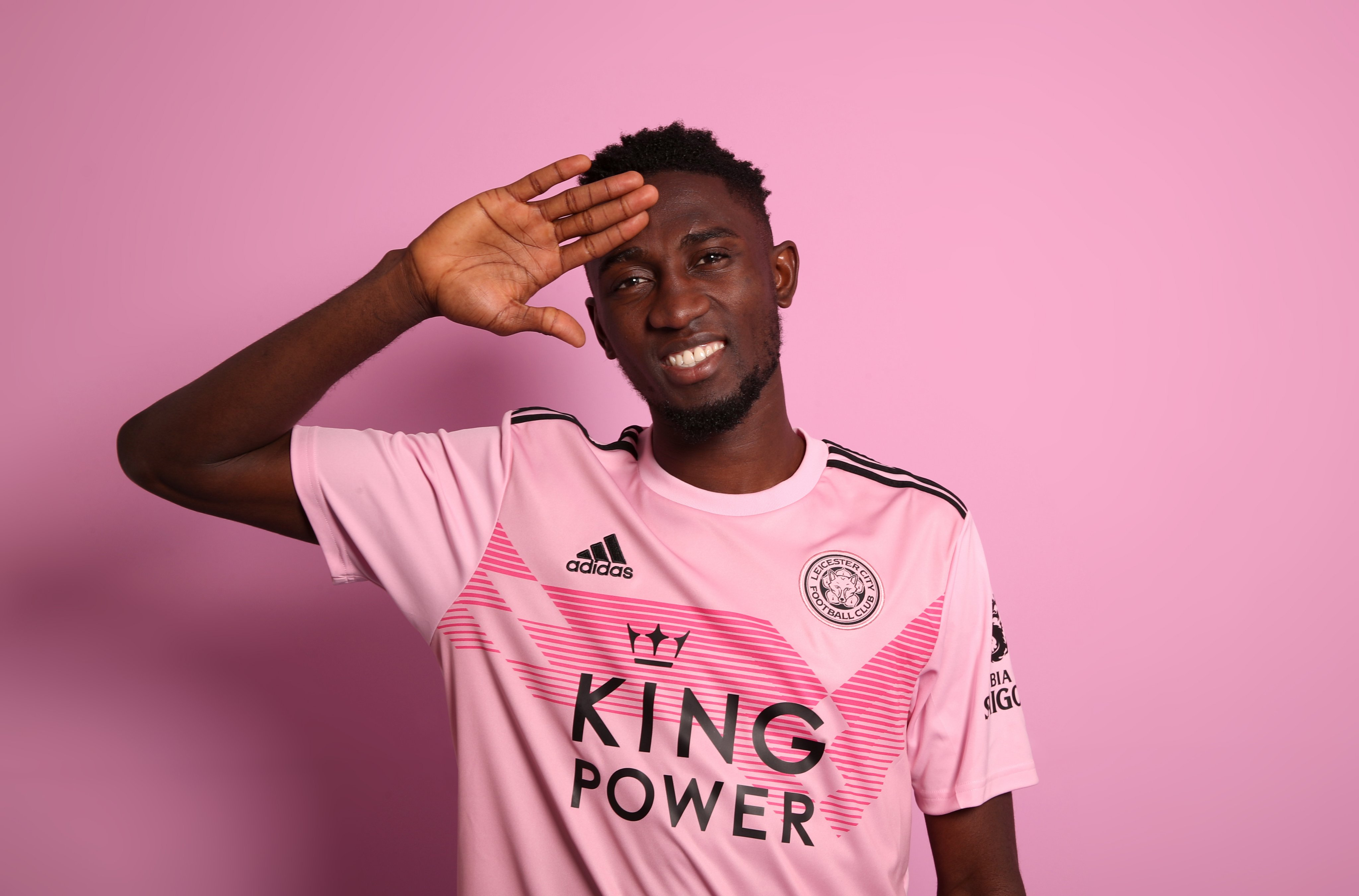 Ndidi, Leicester Teammates To Don Inspirational New Pink Away Kit Vs Chelsea Today
