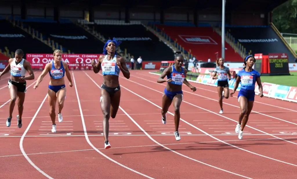 Okagbare Sneaks Into 200m Diamond League Final; Amusan 3rd In 100m Hurdles